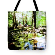 Forest People Tote Bag
