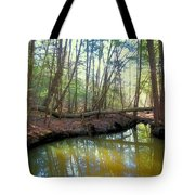 Forest Pool Tote Bag