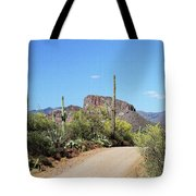 Forest Road 172 Tonto National Forest Tote Bag