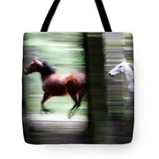 Forest Run Tote Bag