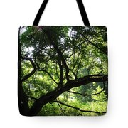 Forest Silhouette Tote Bag