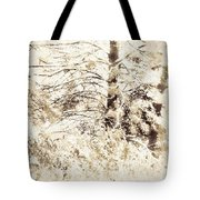 Forest Snow Tote Bag