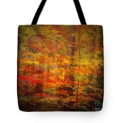 Colorful Forest, Smoky Mountains, Tennessee Tote Bag