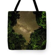 Forest Star Patch Tote Bag