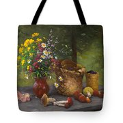 Forest Still Life Tote Bag