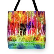 Forest Stream Tote Bag by Darren Cannell