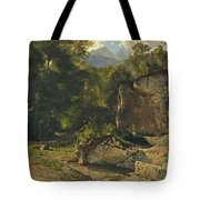 Forest Track. 1855 Tote Bag