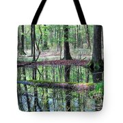 Forest Wetland Tote Bag