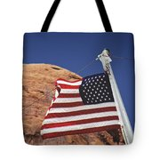 Forever May She Wave Tote Bag
