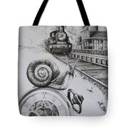 Forever On Time Tote Bag