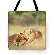 Foreverandeverandever - Red Fox Love Tote Bag