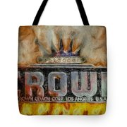 Forged In Fire - Crown - Oil Tote Bag