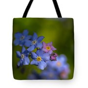 Forget Me Not 2 Tote Bag