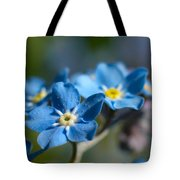 Forget -me-not 3 Tote Bag