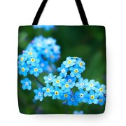 Forget -me-not 4 Tote Bag