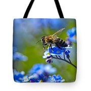 Forget Me Not Bee 2 Tote Bag