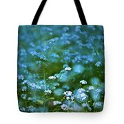Forget-me-not Flower Patch Tote Bag
