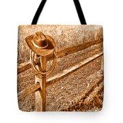 Forgetting Texas - Sepia Tote Bag