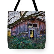 Forgotten Barn Tote Bag by Garry Gay