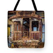 Forgotten Passenger Car Tote Bag