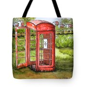 Forgotten Phone Booth Tote Bag