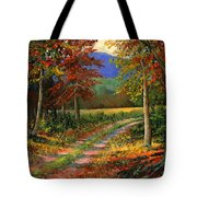 Forgotten Road Tote Bag