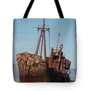 Forgotten Ship Wreck Tote Bag