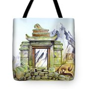 Forgotten Shrine Tote Bag