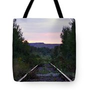 Forgotten Train Track Tote Bag