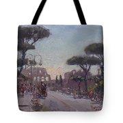 Fori Romani - Street To Colosseo Tote Bag
