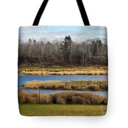 Fork In The River Tote Bag