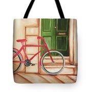 Forlorn Bike Tote Bag