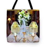 Formal Dining Tote Bag