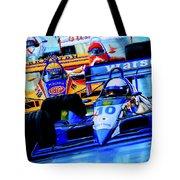 Formula 1 Race Tote Bag