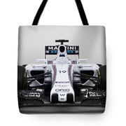 Formula 1 Williams Fw37 Tote Bag