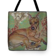Mini-pinscher Tote Bag