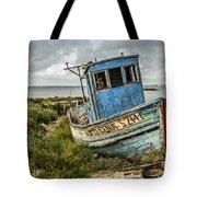 Forsaken Fishing Boat Tote Bag