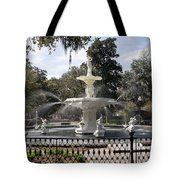 Forsyth Fountain Park Tote Bag