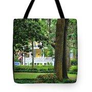 Forsyth Park Inn In Savannah  3205 Tote Bag