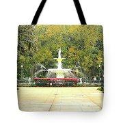 Forsyth Park Savannah Tote Bag
