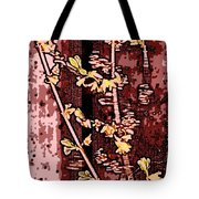 Forsythia Branch Tote Bag