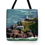 Fort Amherst At St. Johns New Foundland Tote Bag