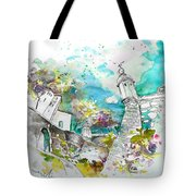 Fort And Houses In Valenca Tote Bag