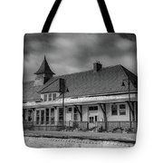 Fort Edward Train Station Tote Bag