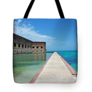 Fort Jefferson Dry Tortugas Tote Bag