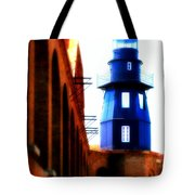 Fort Jefferson Lighthouse Tote Bag