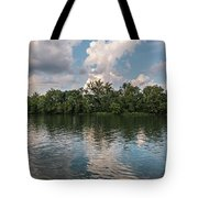 Fort Loudoun Sunset Tote Bag by Todd Blanchard