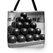 Fort Macon Cannonball Tote Bag