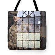 Fort Macon Through Glass Tote Bag