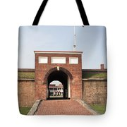 Fort Mchenry Gate In Baltimore Maryland Tote Bag